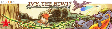 Banner Ivy the Kiwi