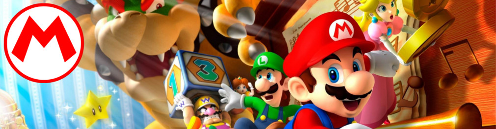 Banner Mario Party DS
