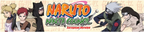 Banner Naruto Ninja Council - European Version