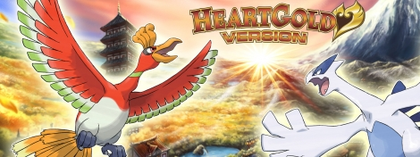 Banner Pokemon HeartGold Version