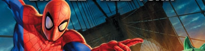 Banner Spider-Man Origins Battle for New York