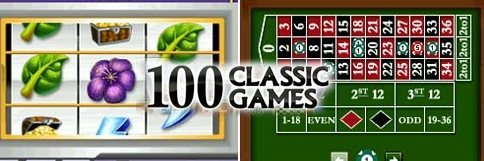 Banner 100 Classic Games