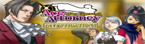 Banner Ace Attorney Investigations