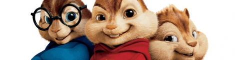 Banner Alvin and de Chipmunks