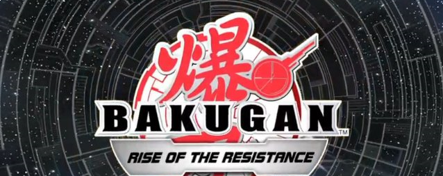 Banner Bakugan Rise of the Resistance