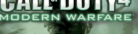 Banner Call of Duty 4 Modern Warfare