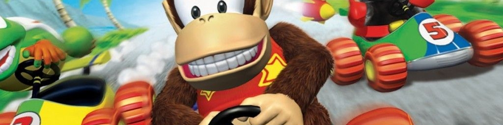 Banner Diddy Kong Racing DS