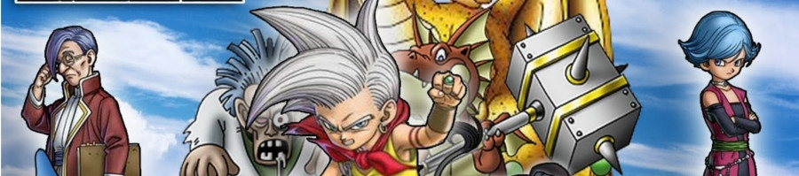 Banner Dragon Quest Monsters Joker