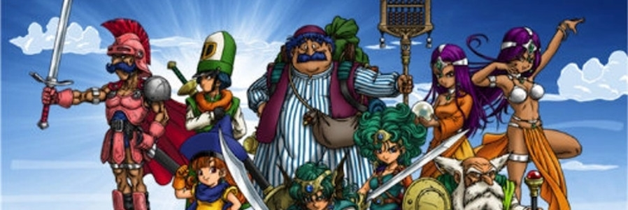 Banner Dragon Quest The Chapters of the Chosen
