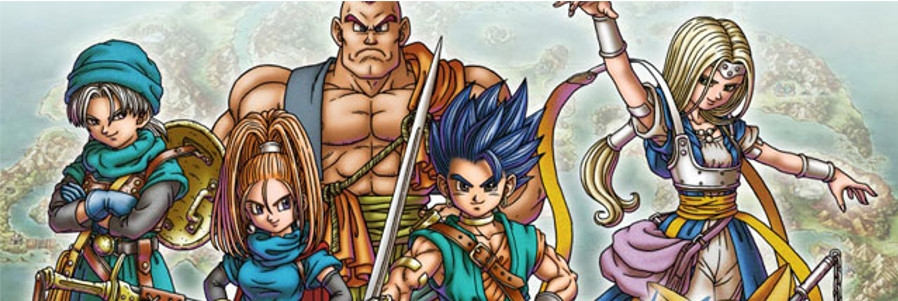 Banner Dragon Quest VI Realms of Reverie