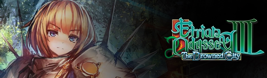 Banner Etrian Odyssey III The Drowned City