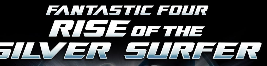 Banner Fantastic Four Rise of the Silver Surfer