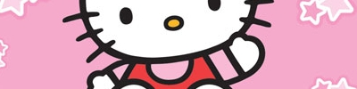 Banner Hello Kitty Daily