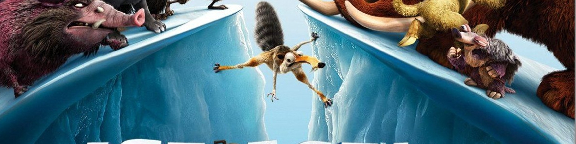Banner Ice Age 4 Continental Drift