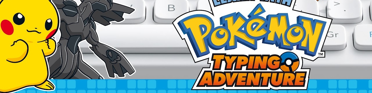 Banner Learn With Pokemon Typing Adventure