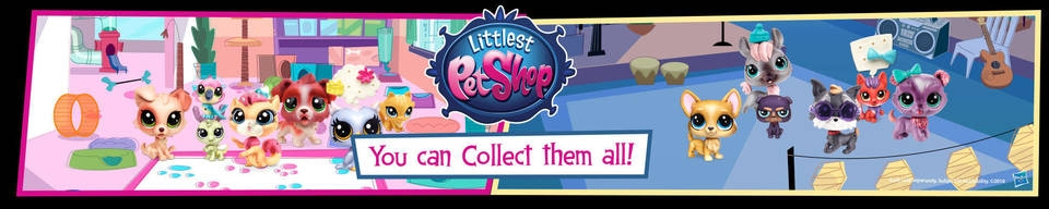 Banner Littlest Pet Shop City Friends