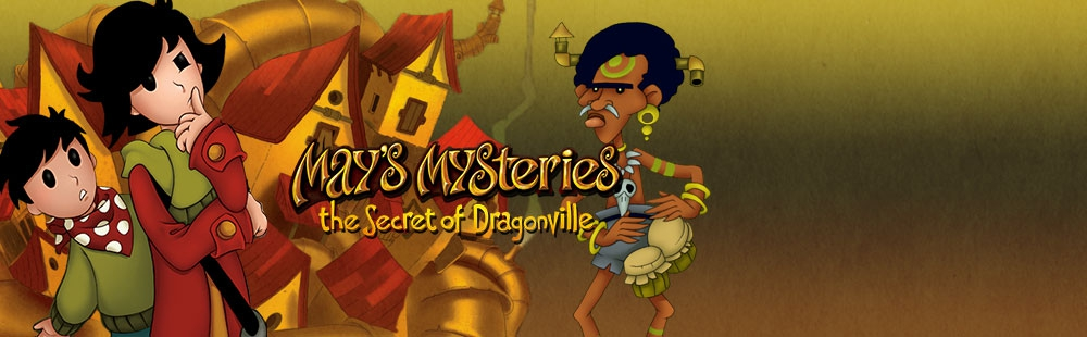 Banner Mays Mysteries The Secret of Dragonville