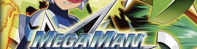 Banner Mega Man Star Force Dragon