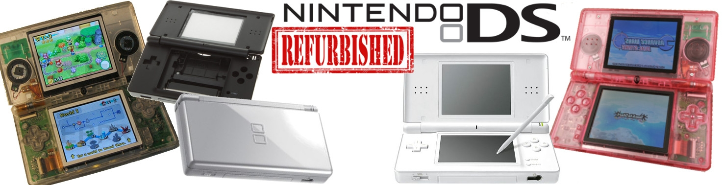 Banner Nintendo DS Lite Refurbished
