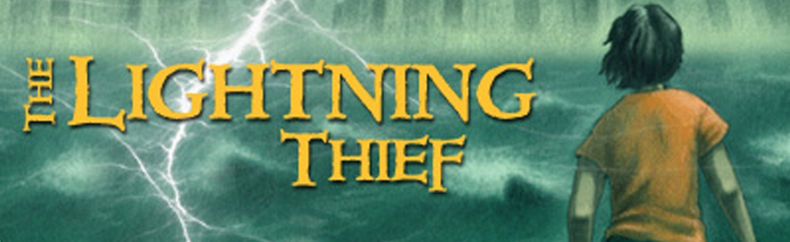 Banner Percy Jackson and The Lightning Thief