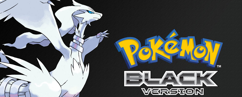 Banner Pokemon Black Version