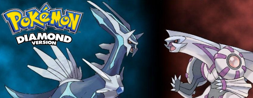 Banner Pokemon Diamond Version