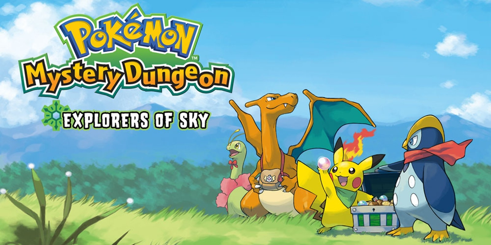 Banner Pokemon Mystery Dungeon Explorers of Sky