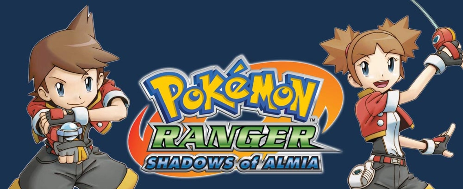 Banner Pokemon Ranger Shadows of Almia