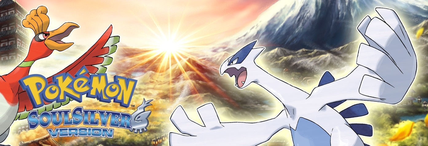 Banner Pokemon SoulSilver Version
