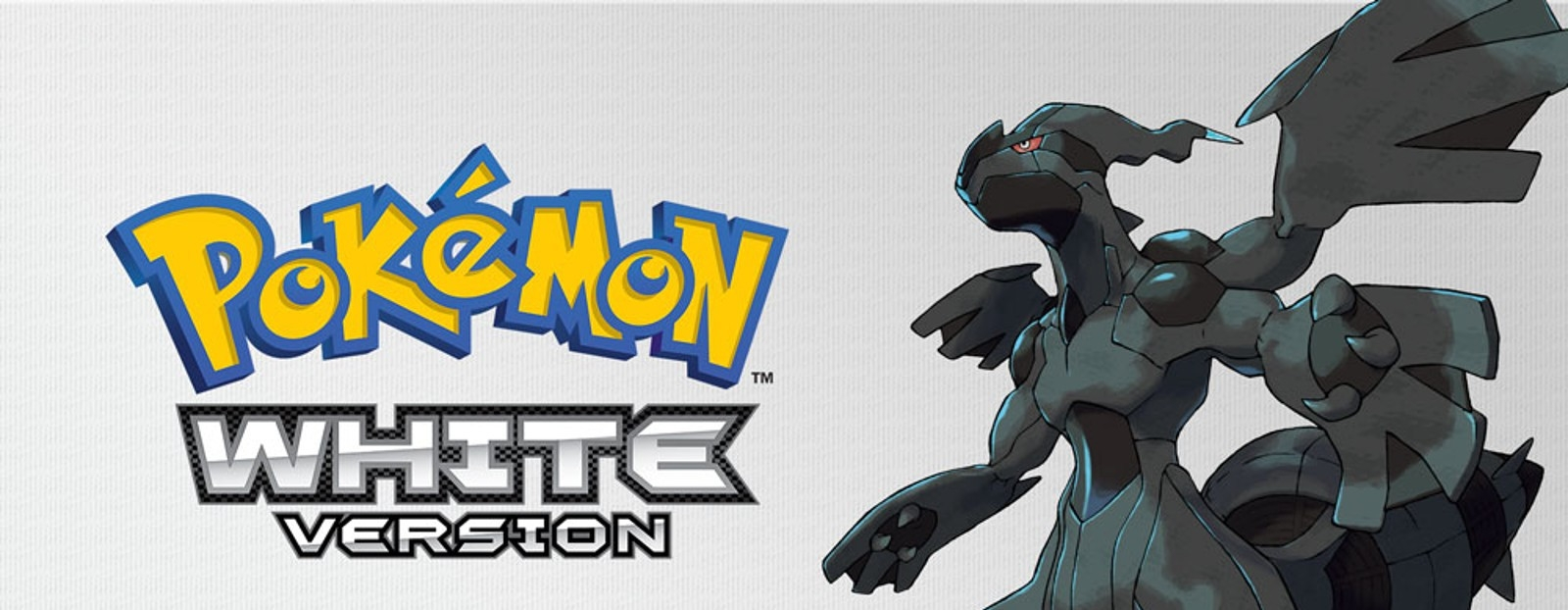 Banner Pokemon White Version