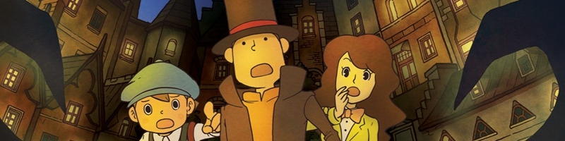Banner Professor Layton and the Last Specter