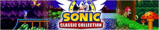 Banner Sonic Classic Collection