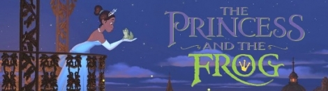 Banner The Princess and the Frog