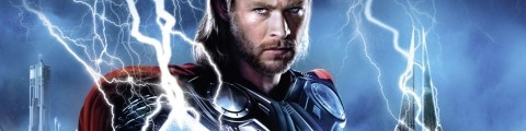 Banner Thor God of Thunder
