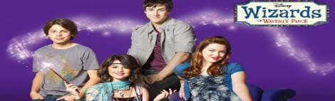 Banner Wizards of Waverly Place