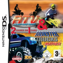 2 Games in 1 ATV: Thunder Ridge Riders & Monster Trucks Mayhem voor Nintendo DS