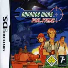 Advance Wars: Dual Strike Losse Game Card voor Nintendo DS