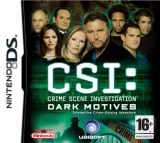 CSI Dark Motives voor Nintendo DS