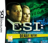 CSI Deadly Intent - The Hidden Cases voor Nintendo DS