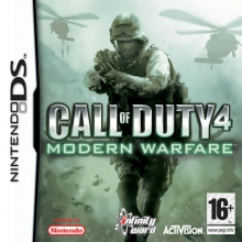 Call of Duty 4: Modern Warfare Losse Game Card voor Nintendo DS