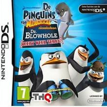 De Pinguins Van Madagascar Dr Blowhole Keert Weer Terug voor Nintendo DS
