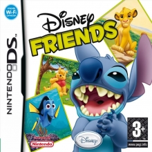 Disney Friends Losse Game Card voor Nintendo DS