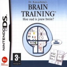 Dr. Kawashima's Brain Training: Hoe oud is jouw brein? Losse Game Card voor Nintendo Wii