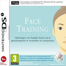 Face Training Losse Game Card voor Nintendo DS