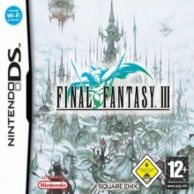 Final Fantasy III Losse Game Card voor Nintendo DS