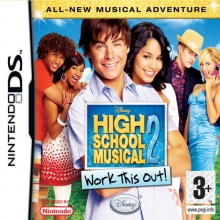 High School Musical 2: Work This Out! Losse Game Card voor Nintendo DS