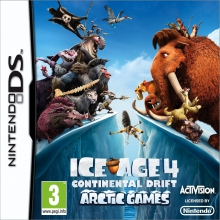Ice Age 4: Continental Drift voor Nintendo DS