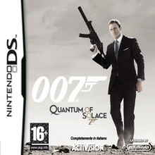 James Bond 007: Quantum of Solace Losse Game Card voor Nintendo DS