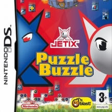 Jetix Puzzle Buzzle Losse Game Card voor Nintendo DS