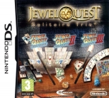Jewel Quest: Solitaire Trio Losse Game Card voor Nintendo Wii